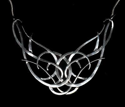 collier Celeborn,parure médiévale pour homme