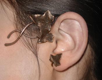 tour d'oreille elfique Ebène