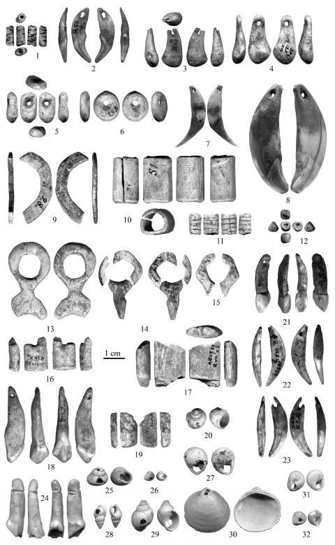 parure paléolithique